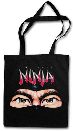 The Last Ninja Hipster Shopping Cotton Bag - Commodore C64 Retro Game Nerd Fun