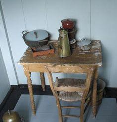 Portaal doet dienst als keuken
