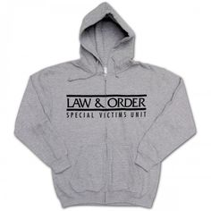 Law & Order SVU Zip Hoodie - this would be the best gift to me ever!
