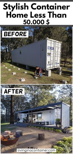 Shipping Container 99289 Stylish Container Home Container Homes For Sale, Shipping Container Home Designs, Shipping Container House Plans, Building A Container Home, Container Buildings, Container House Design, Tiny House Design, Shipping Containers, Ideas De Piscina