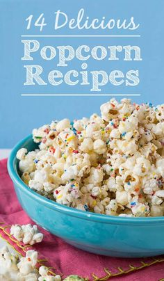 This Cake Batter Popcorn recipe only has a few ingredients and will turn boring popcorn into fun and festive popcorn in a matter of minutes! Spicy Recipes, Appetizer Recipes, Cooking Recipes, Appetizers, Homemade Popcorn Recipes, Easy Recipes, Fudge, Cake Batter Popcorn, Gourmet Popcorn