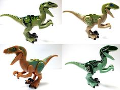 A few months back, we posted a leaked image of the D-Rex in Lego form from the upcoming Jurassic World. Now thanks to a French Jurassic Park Lego fansite called Jurassic Jurassic Park Lego Sets, Jurassic World Raptors, Jurassic Park Party, Lego Jurassic World, Jurassic World Fallen Kingdom, Lego Dinosaur, Step On A Lego, Lego Animals, Lego Worlds