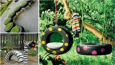30 zseniális ötlet kerti játszótér kialakításához
