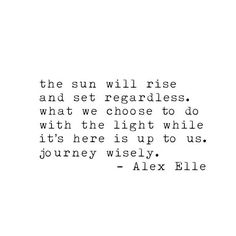 Alex elle quote