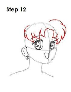 How To Draw Sailor Moon Step 12 Sailor Moon Steps In 2019