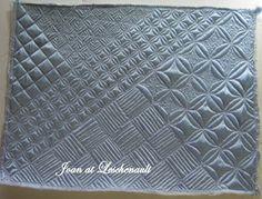 Joan at Leschenault: Free-Motion Quilt Challenge 2012