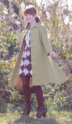 Only One Is A Wanderer Green Coat, Wander, Jackets, Fashion, Green Trench Coat, Down Jackets, Moda, Fashion Styles, Fashion Illustrations