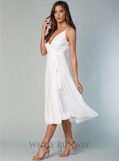 e8d530f813 A beautiful midi length wrap dress by Samantha Rose. A v-