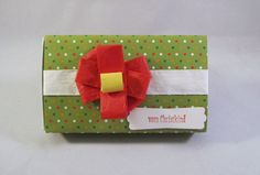 Geschenkschachtel Punkte von Frollein KarLa auf DaWanda.com