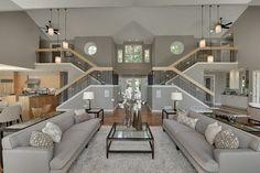 Contemporary in Deephaven contemporary living room