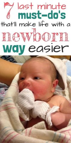 Preparing for Baby: Last Minute Things To Do Before Baby Arrives Preparing for baby, postpartum care, breastfeeding, and more. Make life with a newborn WAY easier with these practical things to do before baby arrives. The Babys, Newborn Baby Tips, Newborn Care, Caring For Newborn Baby, Baby Boy Tips, Baby Puree, Before Baby, After Baby, Baby Toys
