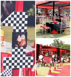 Ferrari Themed 1st Birthday Party via Kara's Party Ideas | KarasPartyIdeas.com (3)