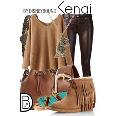 A fashion look from November 2014 featuring long jumper, blk dnm jeans and fringe boots. Browse and shop related looks.