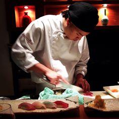 Sushi at Kinoshita Restaurant! Awesome!!