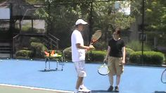 beginner tennis lessons: how to serve
