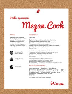 personalized resumes