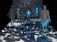 Vega Zaishi Wang, electroluminescence, The Creators Project, China, wearable technology, eco-fashion, sustainable fashion, green fashion, ethical fashion, sustainable style, Beijing, Central Saint Martins