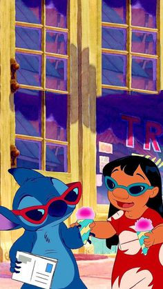 lilo and stitch wallpaper Cartoon Wallpaper Iphone, Disney Phone Wallpaper, Cute Cartoon Wallpapers, Cute Wallpaper Backgrounds, Cartoon Pics, Vintage Backgrounds, Disney Stitch, Lilo And Stitch, Disney Background