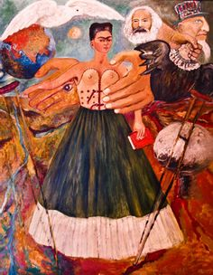 frida kahlo love embrace Frida kahlo the love embrace of the universe, the earth (mexico), me diego, and senor xolotl, 1949 (the jacques and natasha gelman collection/the vergel collection).