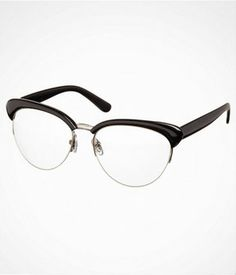 cd7fe35a635 These glasses remind me of Mad Men  Retro Clear Eye Glasses. Clear Eyes