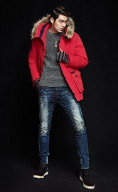 Kim Woo Bin and Chocolat Tia - Buckaroo Jeans