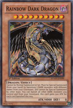 rainbow dragon | Rainbow Dark Dragon - Yu-Gi-Oh!