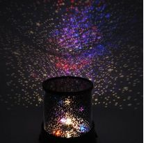 Laser Projector Lamp Starry Night Sky Star Light Starry Cosmos Kids or Baby Room