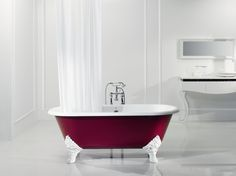 Rectory Red bath!!