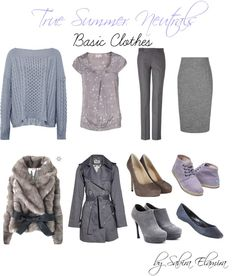 """True Summer neutral colors"" by sabira-amira ❤ liked on Polyvore"