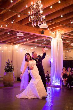 Wedding Dance!  Kirstin Burrows Photography Souther California Wedding Photographer