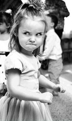 little girl frown meme - Google Search