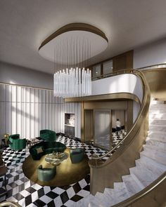 40 East End Avenue is a post-war, in a new boutique condominium building in Yorkville. Hochberg, the president of the luxury. Luxury Condo, Luxury Decor, Luxury Interior, Interior Design, Luxury Dining Room, Luxury Living, Home Stairs Design, House Design, Luxury Staircase