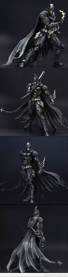 This Is What Happens When You Let The Makers Of Final Fantasy Redesign Batman.