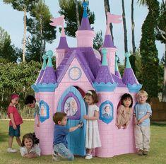Princess Playhouse, Castle Playhouse, Princess Palace, Princess Castle, Outdoor Play, Indoor Outdoor, Makeup Gift Sets, Open Window, 9th Birthday