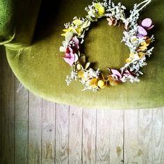 Les Mauvaises Herbes #flowershop #flowers #fleuriste #bordeaux #lesmauvaisesherbes #couronne #wearth #arisan #fleurs