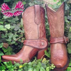 Cowgirl Clad Company - Corral Saltillo Golden Harness Tooled Boot, $260.00 (http://www.cowgirlclad.com/corral-saltillo-golden-harness-tooled-boot/)