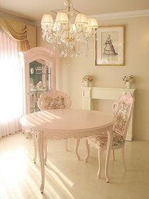 プリンセスなハウススタイリングに必要な電話台です。。輸入家具■猫脚■ロココ調■プリンセス家具■ラ・シェル■電話台