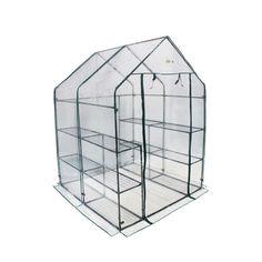 Ogrow Deluxe 6-Tier 12-Shelf Walk-In Portable Greenhouse Start Your Seedling Now