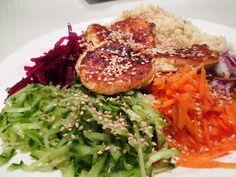 En verden af smag!: Regnbuesalat med Fetafritter