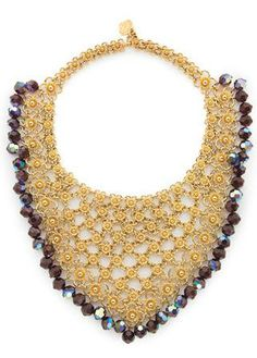 Yves Saint Laurent Bib Necklace,  Circa 1970