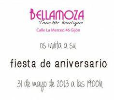 #Gijon #Beauty : Fiesta Aniversario Bellamoza ^_^ http://www.pintalabios.info/es/eventos_moda/view/es/1573 #ESP #Evento #Fiestas