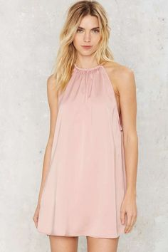 Motel Pink Before You Act Satin Dress - Best Sellers | Going Out | All Party