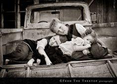Vintage- Old truck kids photo session...love