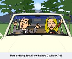 Matt and Meg test drive the new Cadillac CTS! Call and set up your test drive today!  860-872-9145