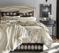 Celeste Duvet Cover & Sham | Pottery Barn, Erick, do you like this for your upstairs bedroom?