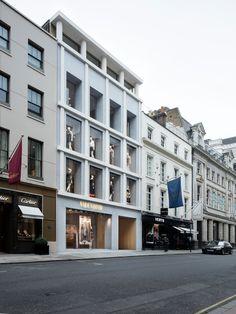 David Chipperfield Architects – Valentino London Old Bond Street flagship store