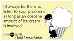 Ice cream really can convince anyone.