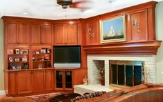 Entertainment Center Beauty Combined With Custom Design. Adelphi Kitchens  Has Been Manufacturing Some Of The Finest Custom Cabinetry Since