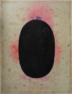 Anonymous: tantric painting, black shiva linga