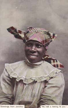 JAMAICA ,00-10s ;Female portrait